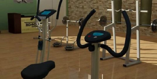 Salón de gimnasio