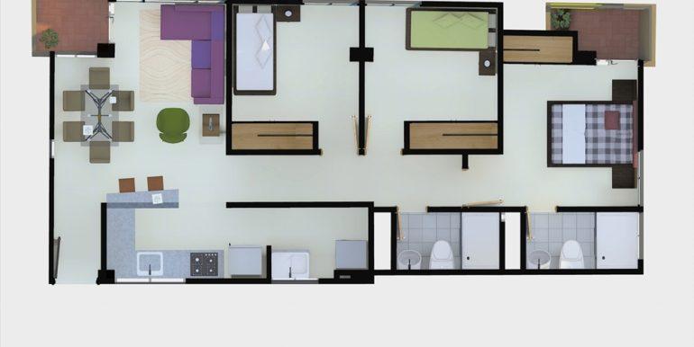 Apartamento tipo G