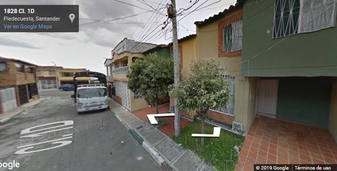 PIEDECUESTA, SAN FRANCISCO DE LA CUESTA, ARRIENDO CASA.